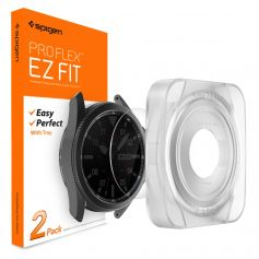 [2 Pack] Galaxy Watch 3 (45mm) Screen Protector Pro Flex EZ Fit