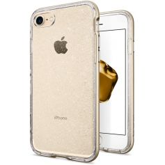 iPhone 7 Case Neo Hybrid Crystal Glitter-Champagne Gold