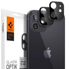 [2 Pack] iPhone 12 Mini Optic Lens Tempered Glass