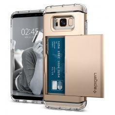 [SALE] Galaxy S8 Case Crystal Wallet