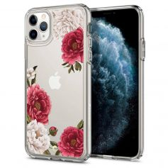 Ciel By CYRILL iPhone 11 Pro Max Case Spigen Cecile Series Red Floral