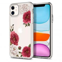 Ciel By CYRILL iPhone 11 Case Spigen Sub Brand Cecile Series Red Floral