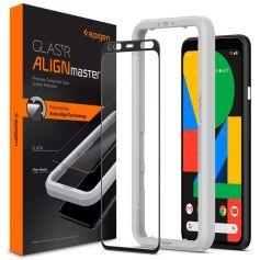 Google Pixel 4 AlignMaster Full Coverage Tempered Glass