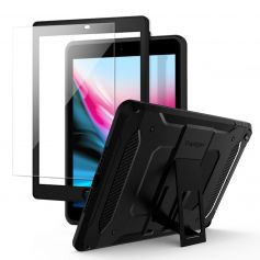 """iPad 9.7"""" (2018 / 2017) Case Tough Armor TECH [Full Cover with Tempered Glass]"""