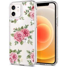 CYRILL Ciel iPhone 12 Pro / iPhone 12 Case Spigen Sub Brand Pink Floral