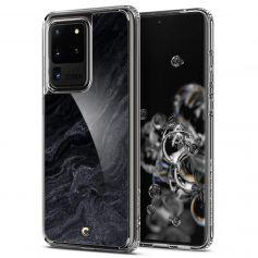 Ciel By CYRILL Samsung Galaxy S20 Plus Case Spigen Cecile Series Noir Marble
