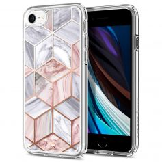 "CYRILL Ciel iPhone SE 2020 Case (4.7"") iPhone 8 / iPhone 7 Spigen Pink Marble"