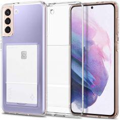 Samsung Galaxy S21 Case Crystal Slot