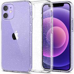 iPhone 12 Mini Case Liquid Crystal Glitter