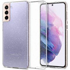 Samsung Galaxy S21 Case Liquid Crystal Glitter