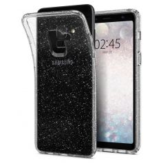 Galaxy A8 (2018) Case Liquid Crystal Glitter