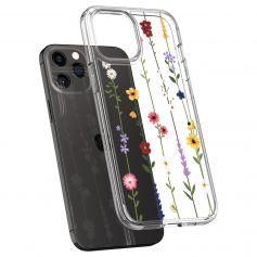 CYRILL Ciel iPhone 12 Pro / iPhone 12 Case Spigen Sub Brand Flower Garden