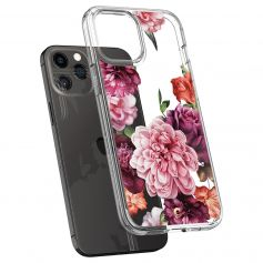 CYRILL Ciel iPhone 12 Pro / iPhone 12 Case Spigen Sub Brand Rose Floral