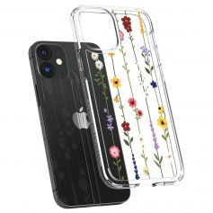 CYRILL Ciel iPhone 12 Mini Case Spigen Sub Brand Flower Garden