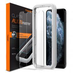[2 Pack] iPhone 11 Pro / iPhone XS AlignMaster Glas.tR (Sensor Opening Type)