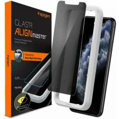 iPhone 11 / iPhone XR AlignMaster Privacy Tempered Glass