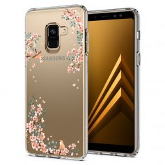 Galaxy A8 (2018) Case Liquid Crystal Blossom