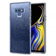 Galaxy Note 9 Case Liquid Crystal Glitter