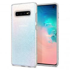 Galaxy S10 Case Liquid Crystal Glitter