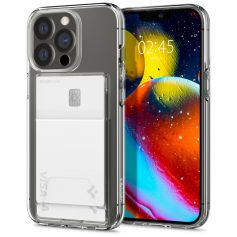 iPhone 13 Pro Case Crystal Slot Dual