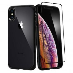 iPhone XS MAX Case Ultra Hybrid 360 (Glass Screen Protector)