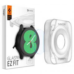 [2 Pack] Spigen Galaxy Watch 4 (40mm) Screen Protector EZ FIT GLAS.tR
