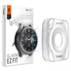 [2 Pack] Spigen Galaxy Watch 4 Classic (42mm) / Galaxy Watch 3 (41mm) EZ FIT GLAS.tR