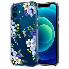 CYRILL Ciel iPhone 12 Pro / iPhone 12 Case Spigen Sub Brand Midnight Bloom